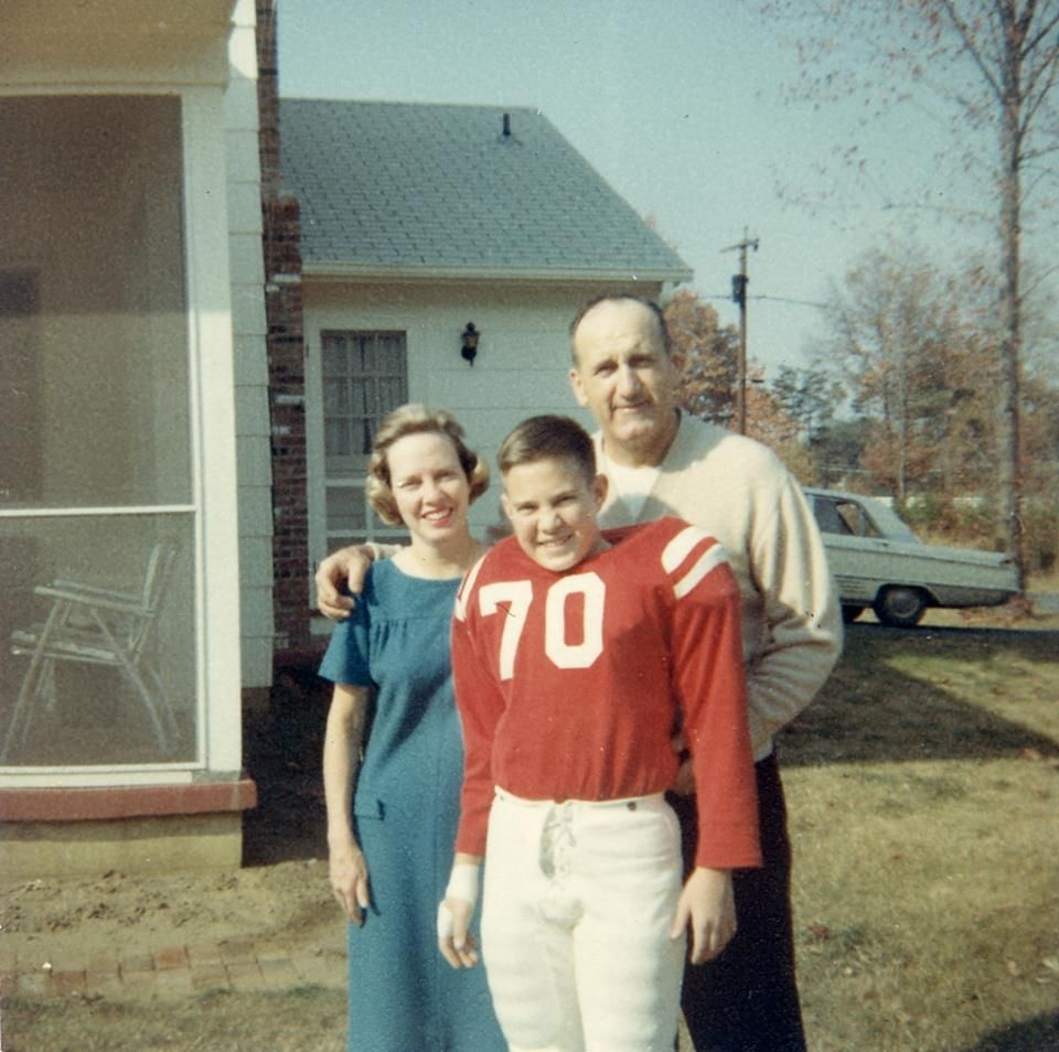 A Young Bill Belichick New England Patriots Football Is Life Bill Belichick