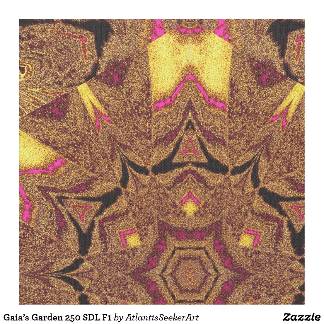Gaia\'s Garden 250 SDL F1 Fabric   Gardens, Fabrics and Gaia