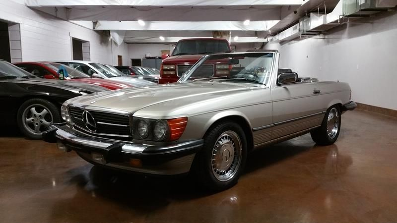 1988 Mercedes 560sl Magnusson Classic Motors In Scottsdale Az Us For Sale 235406 Classic Motors Mercedes Custom Mercedes Benz