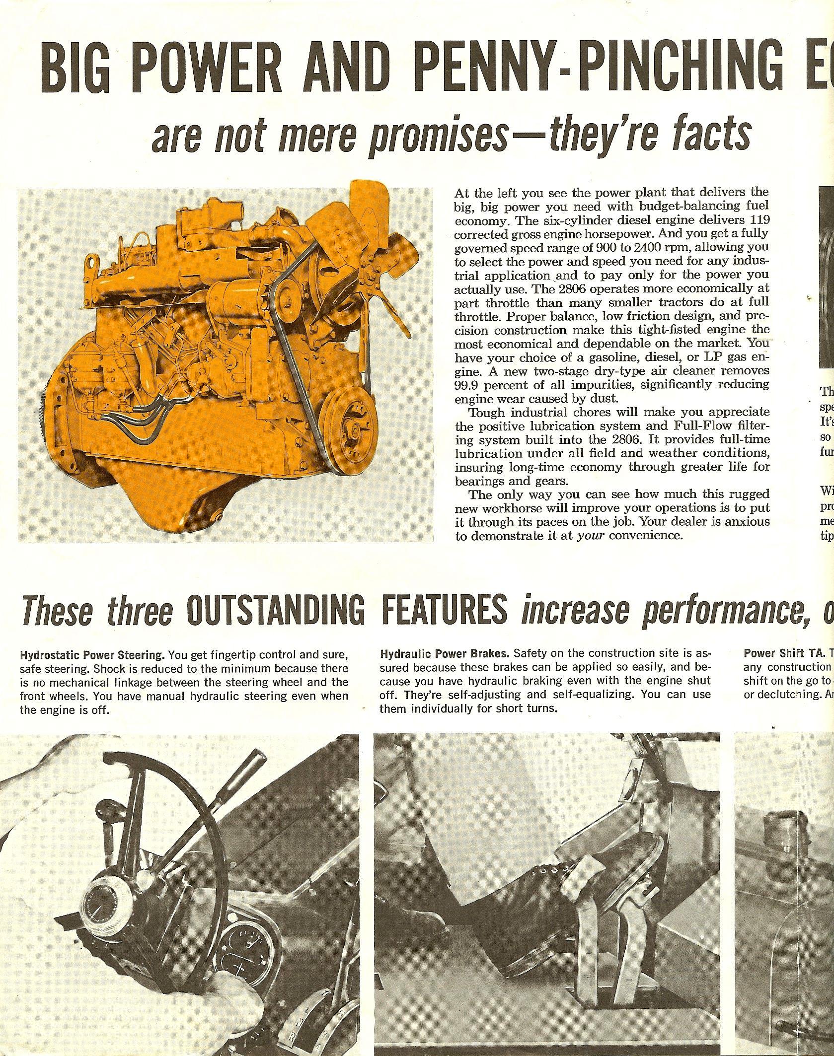 1964 Ih 2806 Farmall Diesel Engine International Harvester