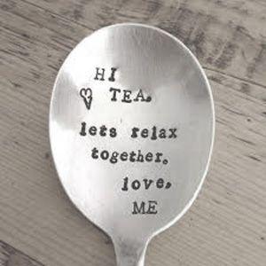Hi Tea!  Let's relax together, love, ME