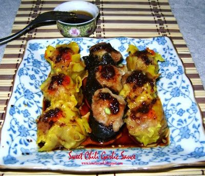 How to make chili garlic sauce for siomai