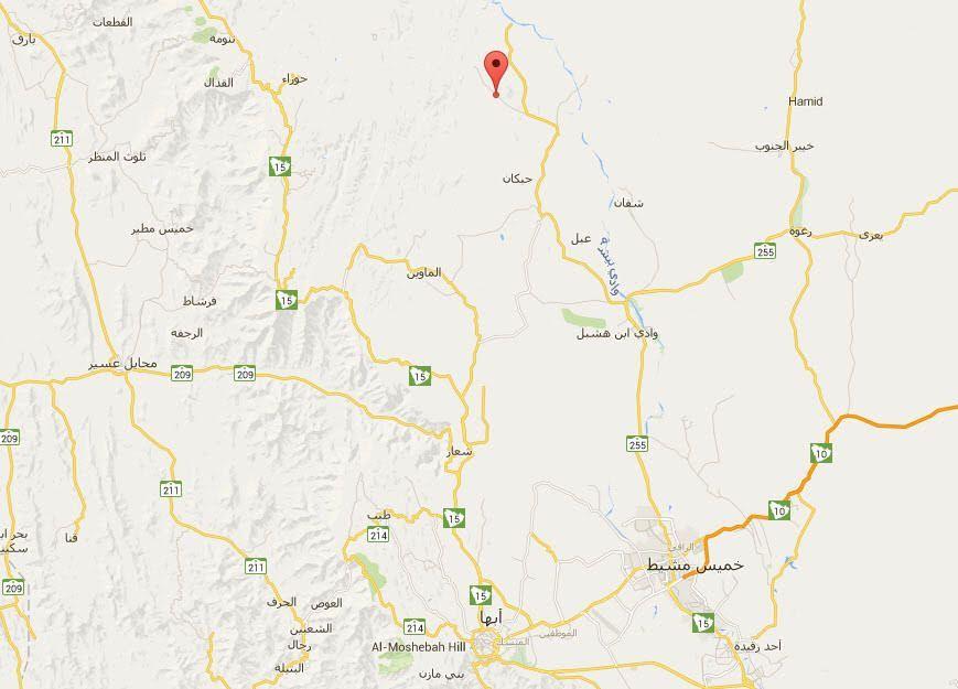 مرور عسير حادث الـ 15 وفاة وقع في طريق مهيأ وبعيد عن الشاحنات Map Arabians Site