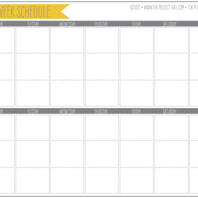 graphic about 2 Week Calendar Printable titled 2 7 days Planner Printable Calendar Printables toward generate