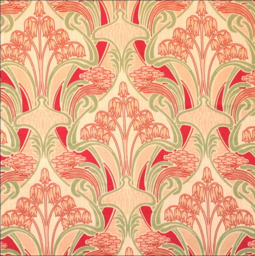 René Beauclair Art nouveau wallpaper, Art nouveau