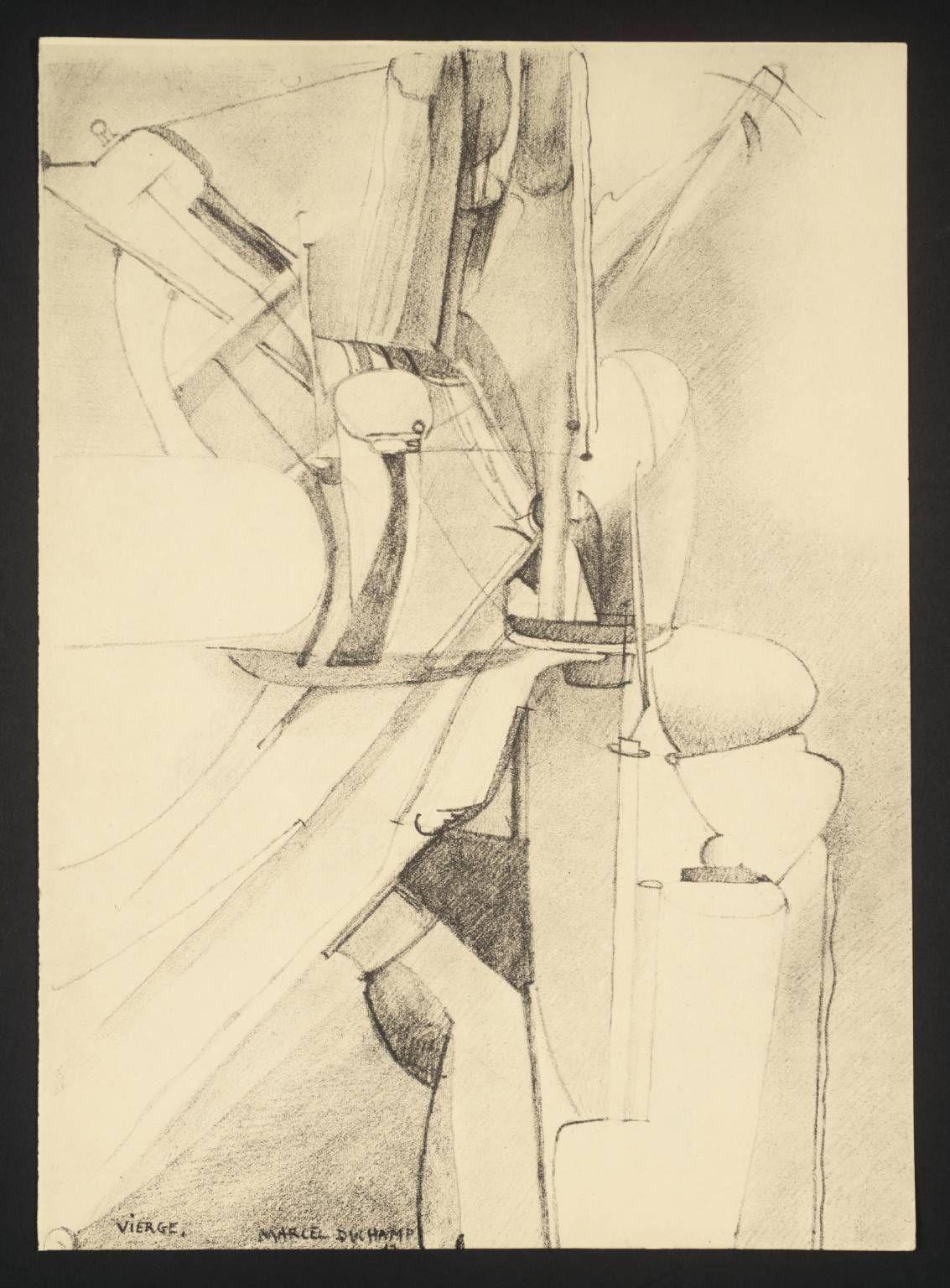 Marcel Duchamp, Vierge