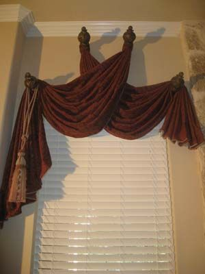 Interesting Use Of Decorative Holdbacks Needs Panels To