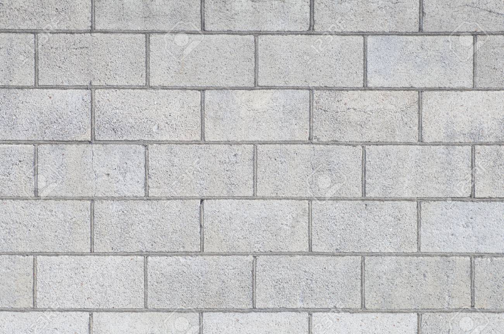 Concrete Block Wall Seamless Background And Texture Concrete Block Walls Concrete Blocks Block Wall