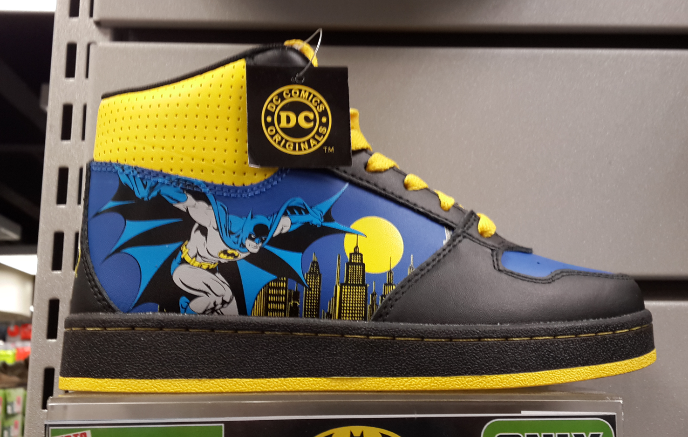 Batman Children's Hi Tops Shoe (Sports Direct) Batman kids