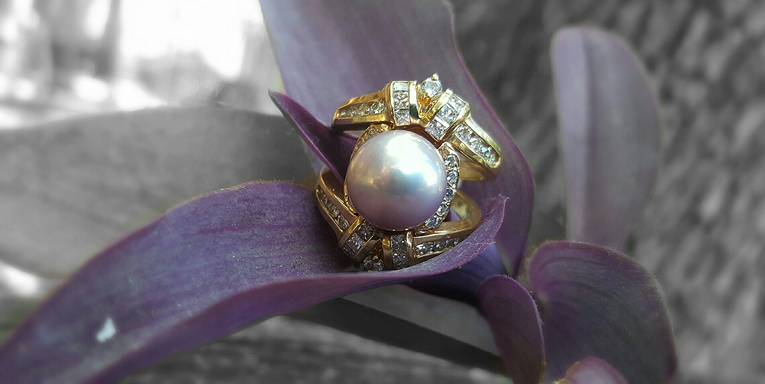 Estate Jewelry Concho Pearls Gold San Angelo Texas