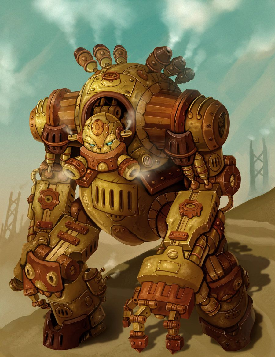 steampunk robot - Google Search
