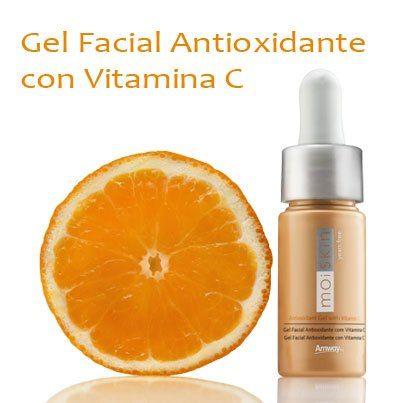 Gel facial con vitamina C, Altamente recomendado!!