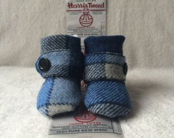 They WILL FIT ME!!!! Harris Tweed Baby Boots
