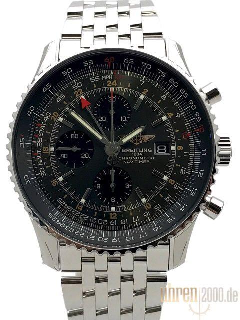 Breitling Navitimer World Stratos Grey A243223a F571 443a Breitling Breitling Navitimer Breitling Watch
