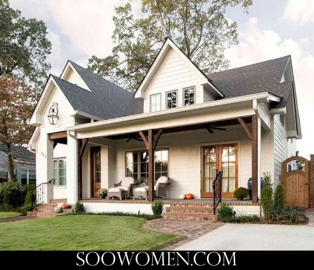 42 Impressive Modern Farmhouse Design House Plans Ideas / 14 #smallmodernfarmhouseplans