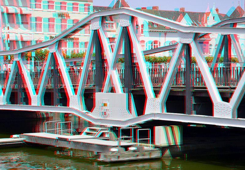 Draaibrug Middelburg 3D