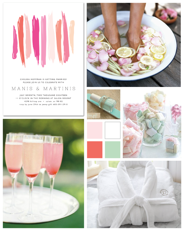 DIY Stay-At-Home Spa Day by papersnaps.com | Bachelorette Party ...