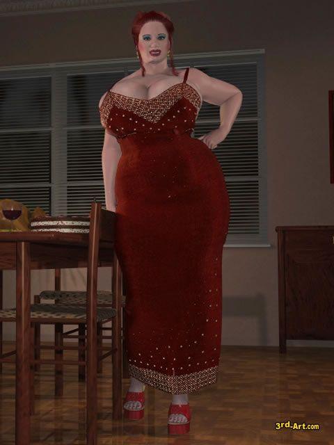 3rd art nadia weight gain