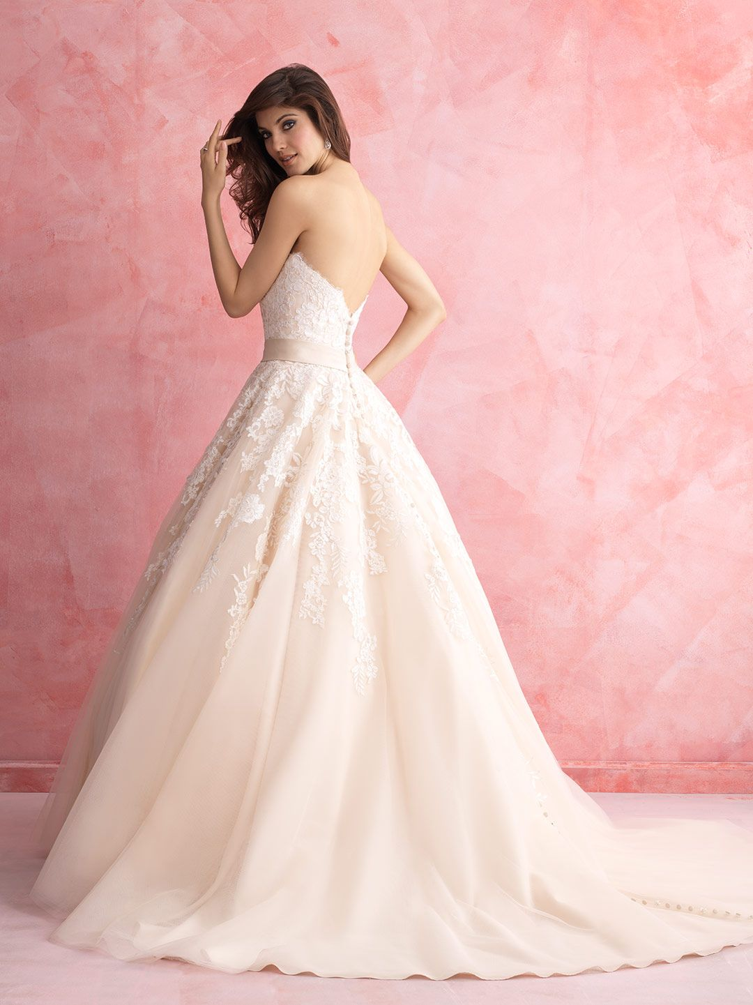 Allure Romance - 2809 - Available Spring 2015, Sample Size 14, Ivory ...