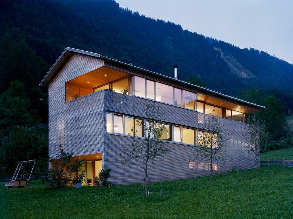 Moderner holzbau satteldach  Dietrich | Untertrifaller Architekten | Architektur | Pinterest ...