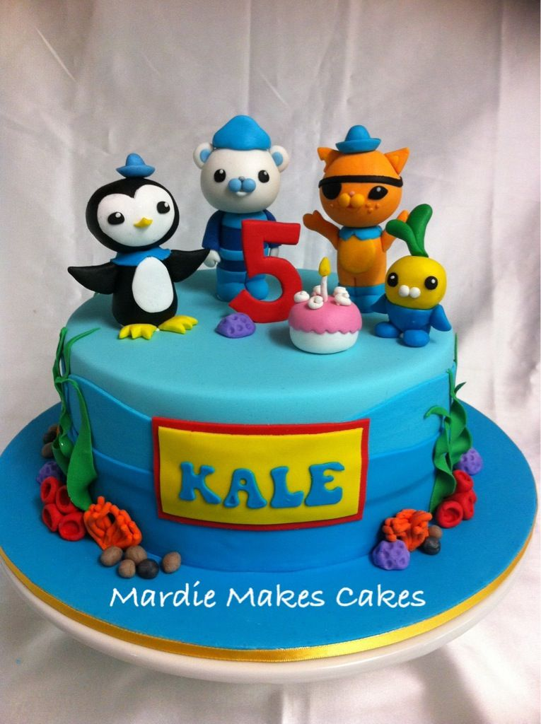 octonauts cake ideas Google Search birthday inspiration