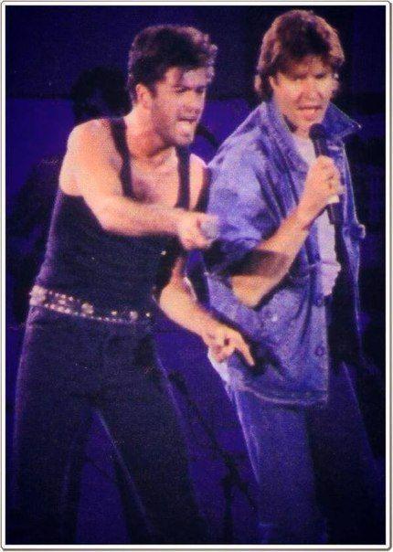 George en Simon Le bon