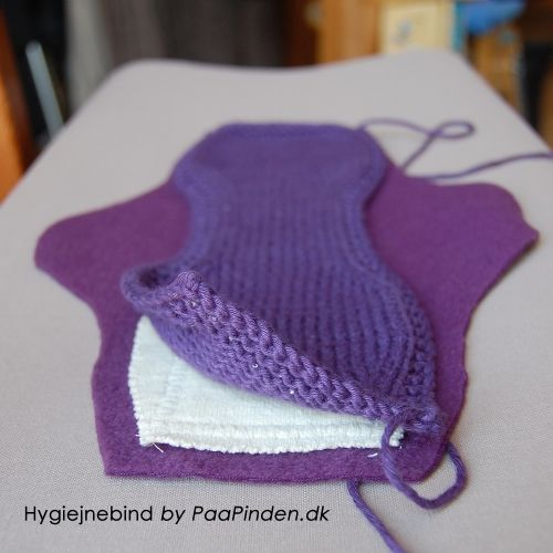 Menstrual Pads By Paapinden Dk May Be Knitted Or Crotchet With