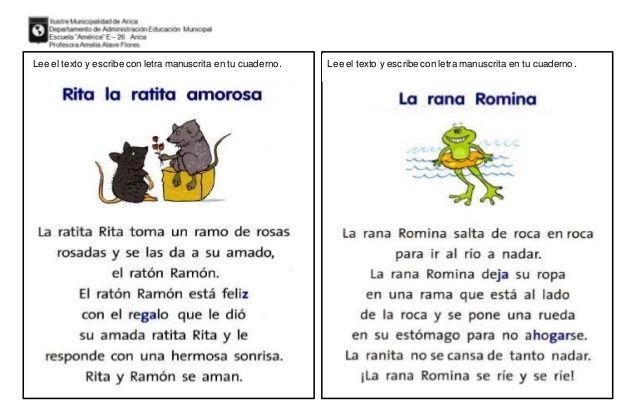 Lecturas Para Velocidad Lectora Lectura Lectura Y Escritura Cuaderno De Lectoescritura