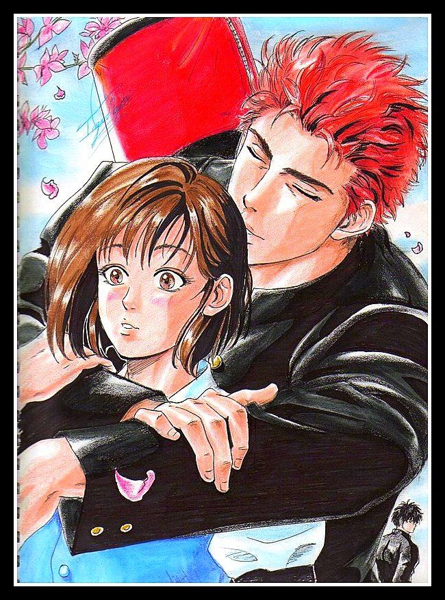 hanamichi �� haruko slam dunk pinterest slam dunk