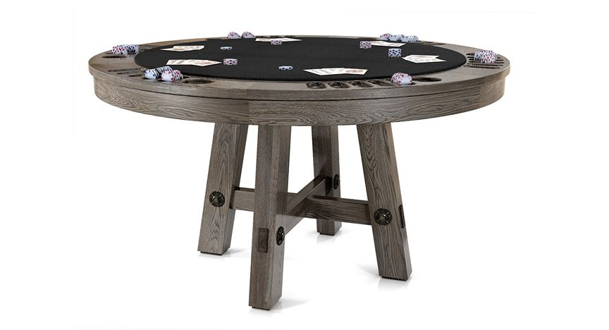 Loft Reversible Top Game Table Table Games Poker Table