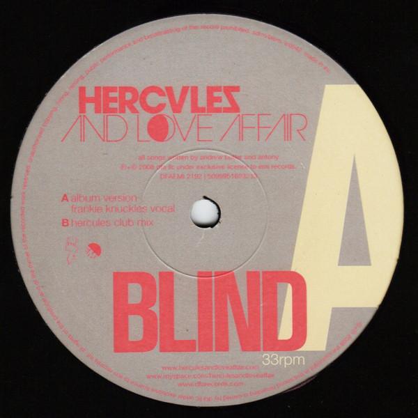 Hercules And Love Affair Blind Vinyl 12 Hercules Love Affair Affair
