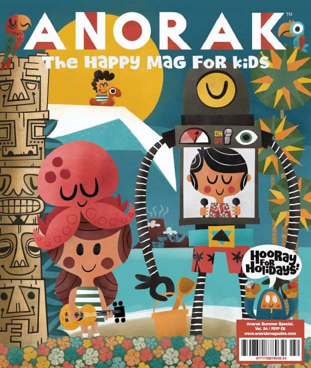 Holidays issue. Artwork by Pintachan.  Www.anorakmagazine.com