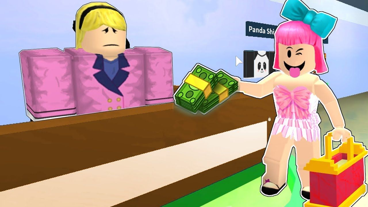 Roblox Shopping Simulator With Images Roblox Mini Games