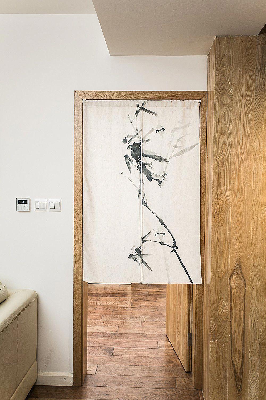 Japanese Noren Doorway Curtain Tapestry 33 5 Width X 47 2 Long