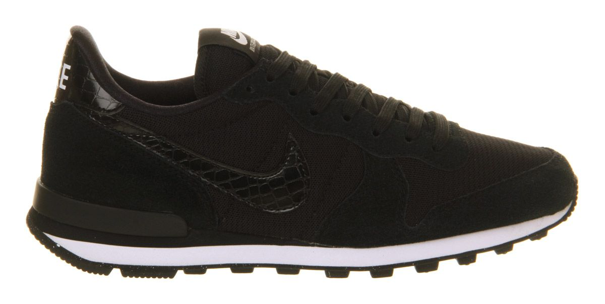 cheap for discount 09ad9 af963 Nike Nike Internationalist (w) Black Black White - Hers trainers