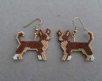 boucle d'oreille chihuahua