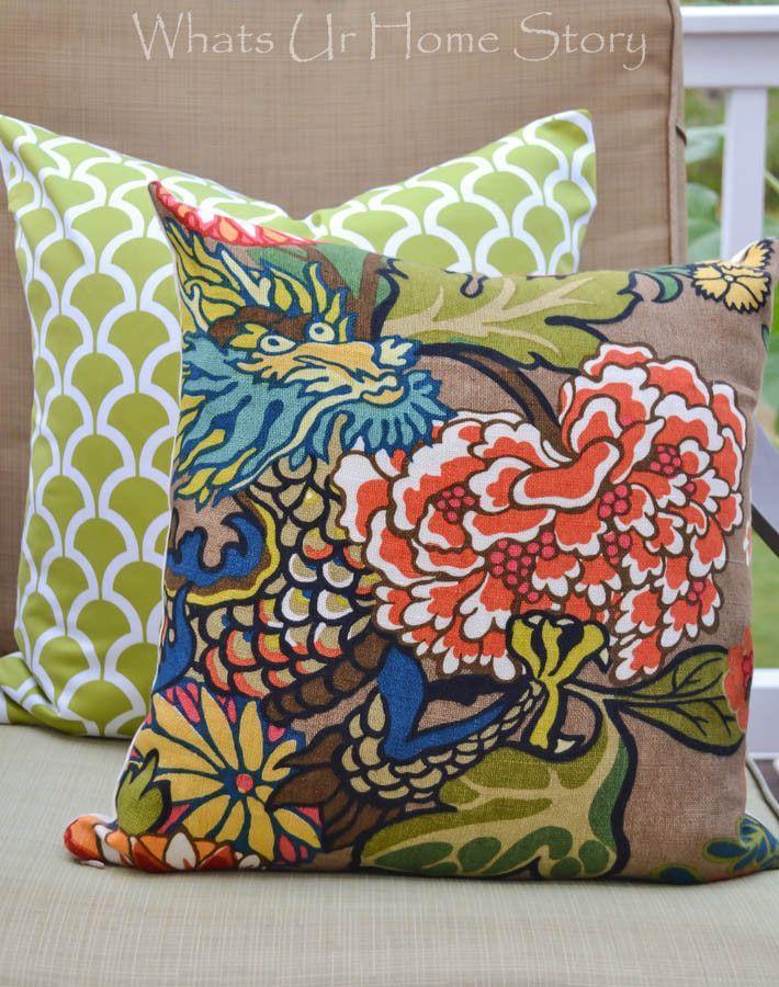 How to Sew a Pillow with Zipper - Zipper Pillow Cover Tutorial & How to Sew a Pillow with Zipper - Zipper Pillow Cover Tutorial ... pillowsntoast.com