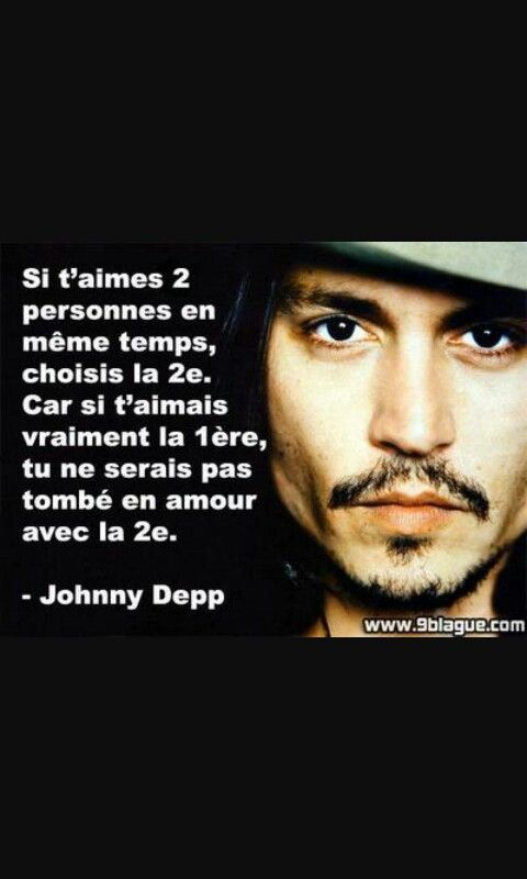 Johnnydepp Citation Citation De Star Johnny Depp Depp