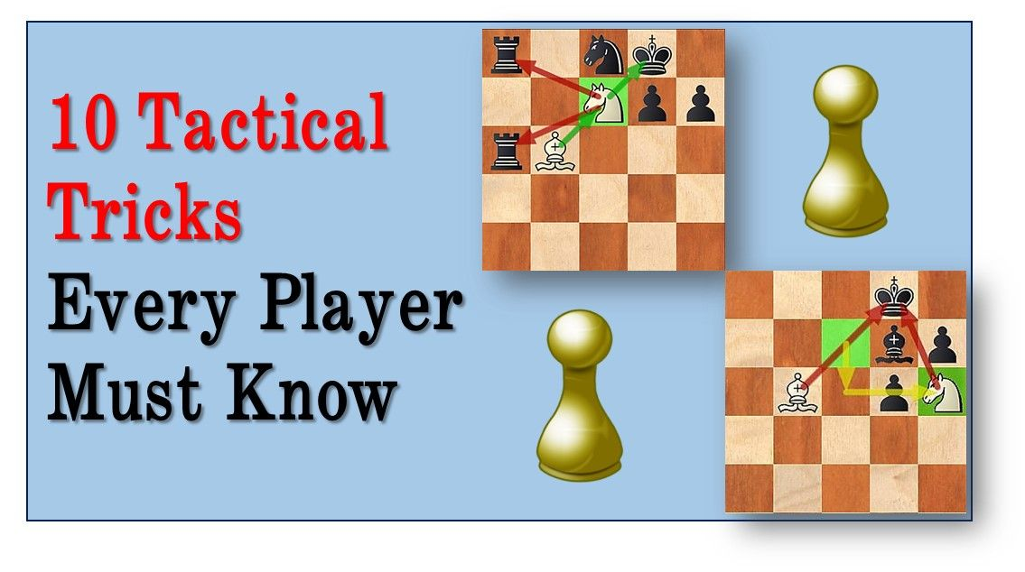 Today we will go over 10 most important tactical techniques that every chess player must know. It is a part of the training process to learn about each of these techniques and to be able to apply them in your own games. Once you understand these things I suggest solving tactics and playing practice game […]