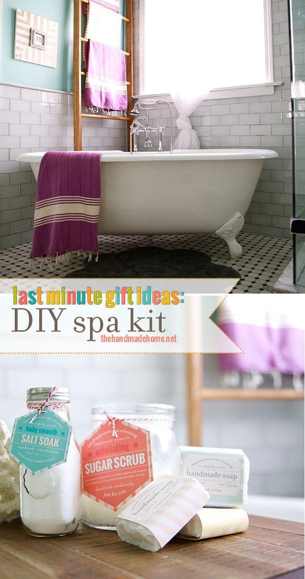 Diy Spa Kit {salt Soak Recipe}   The Handmade Homethe Handmade Home