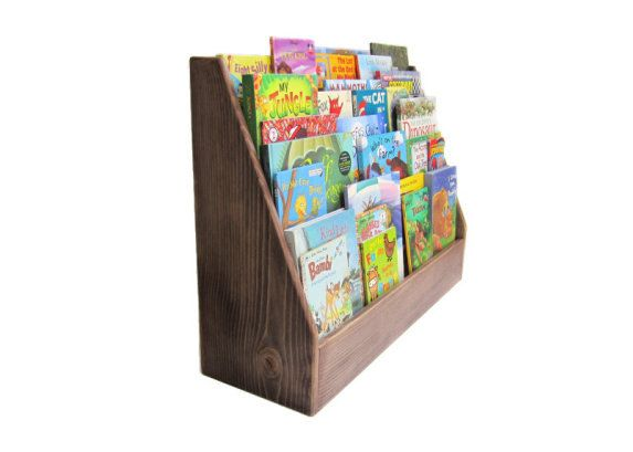 CHILDRENS BOOKCASE Chocolate Brown Zero VOC Finish Other Custom Colors Available 16500 Via Etsy