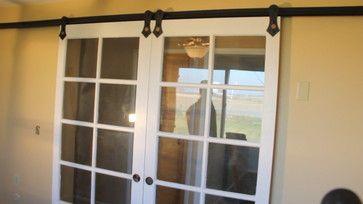 Converting French Doors To Sliding Barn Door Hardware French Doors Vintage French Doors Barn Door