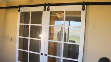 Convert French Doors To Sliding Barn Doors French Doors Vintage