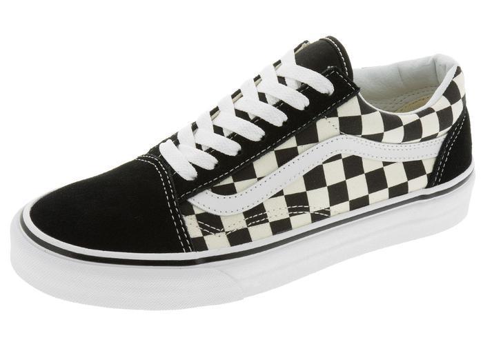 Vans Old Skool Primary Checkerboard Black White in 2020