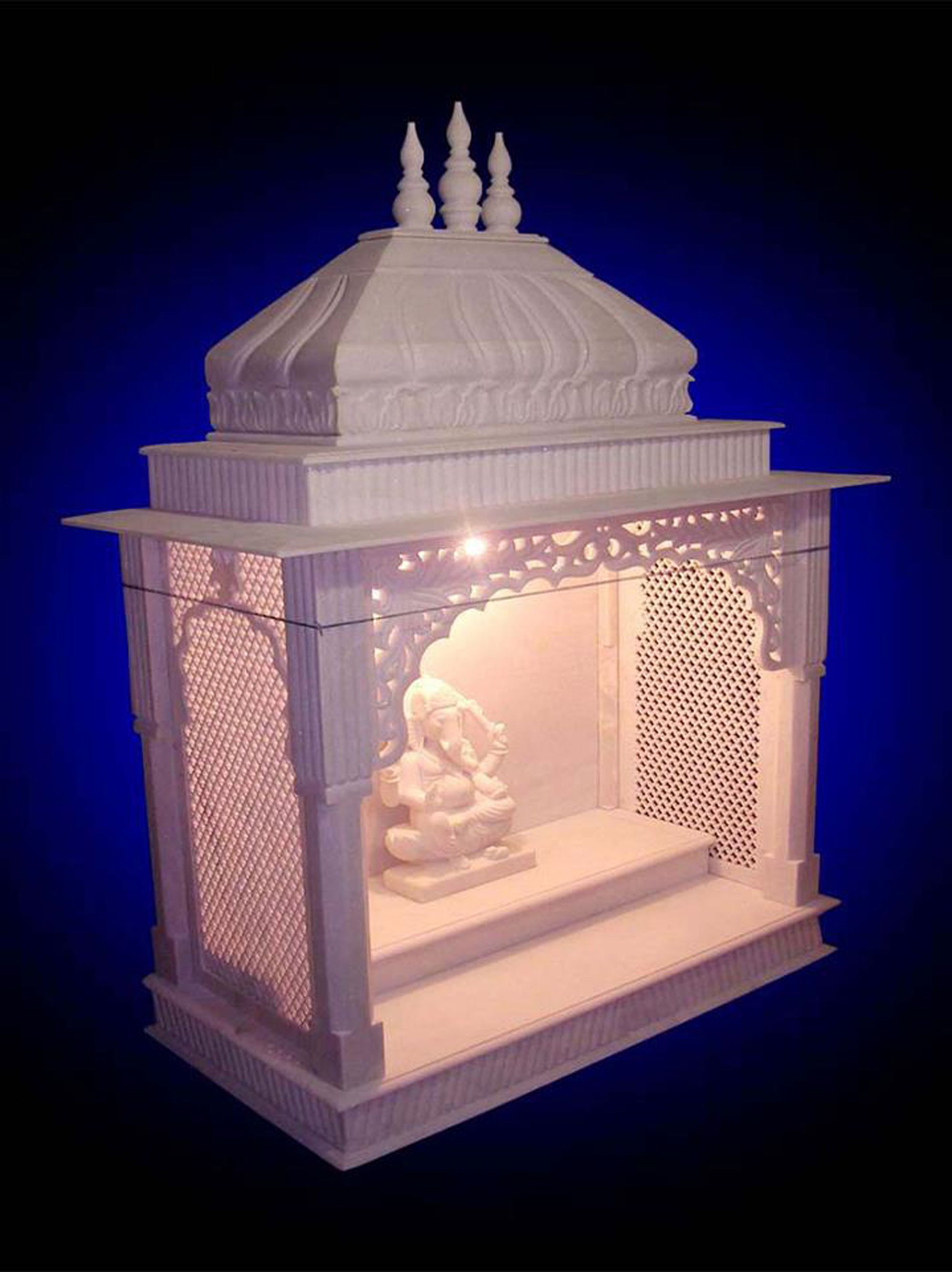 Wooden temple designs for home small temple for home wooden home - Puja Room Design Home Mandir Lamps Doors Vastu Idols Placement