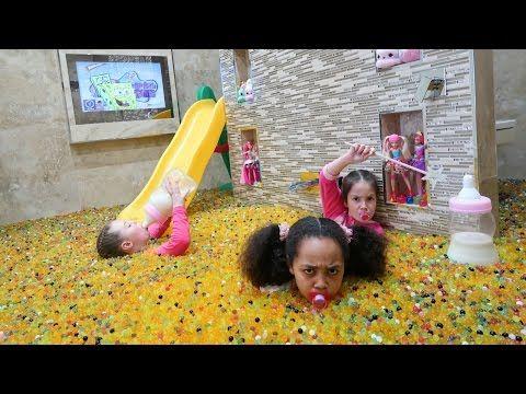 Bad Baby Tiana Messy Orbeez Bath Party Spa Explosion