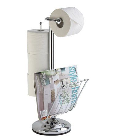 look at this zulilyfind chrome toilet caddy by better living rh pinterest com