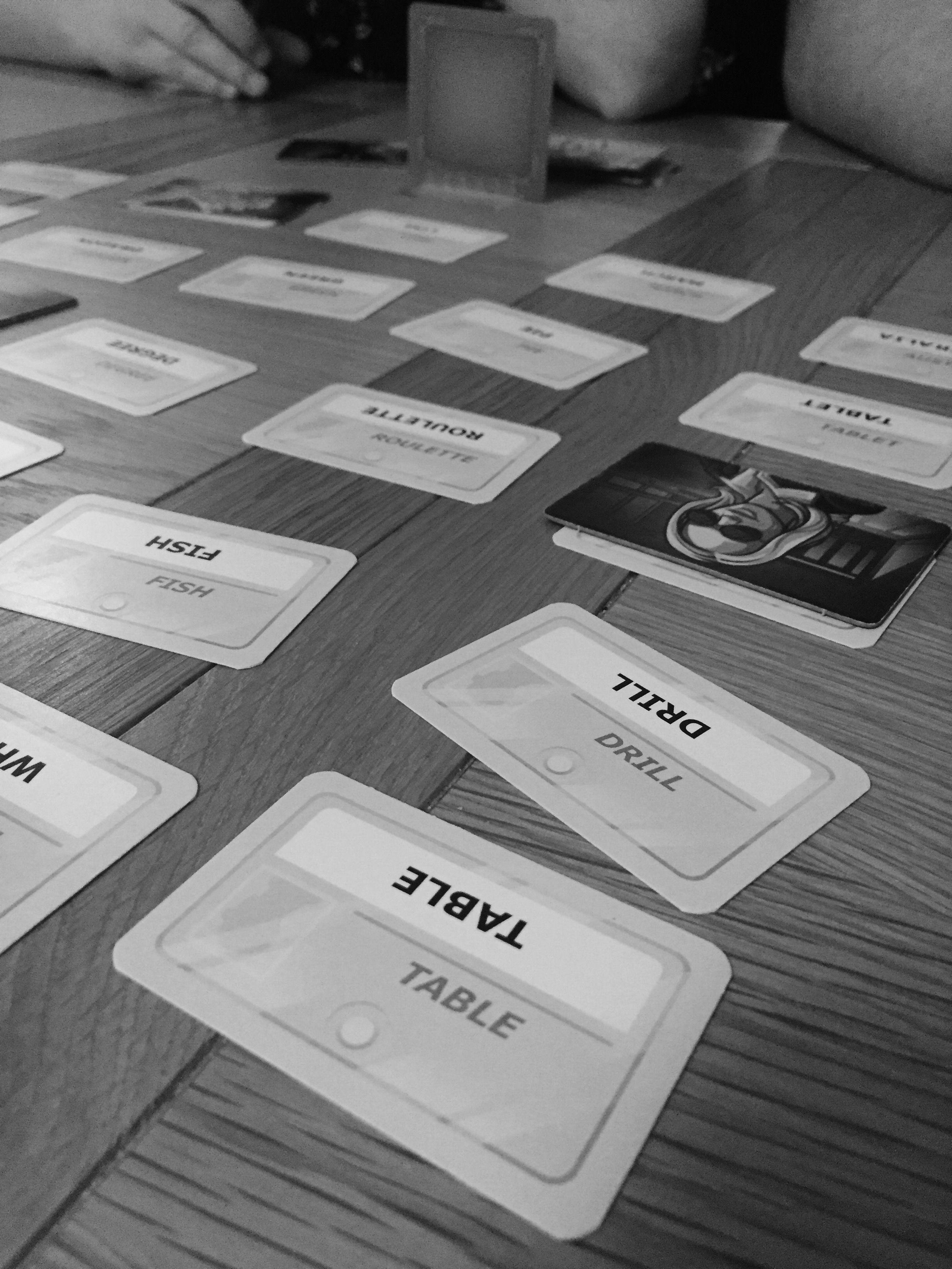 codenames fourwasoptimistic Bored games, Code names