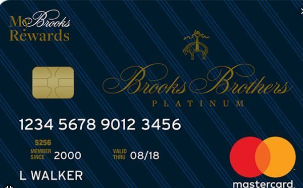 Brooks Brothers Credit Card Login Brooks Brothers Benefits