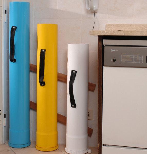 Raccolta differenziata fai da te e hobby pinterest - Contenitori raccolta differenziata casa ...
